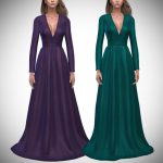 Платье Amelia Gown Симс 4