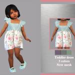 Платье для малышей Toddler Dress Aline Симс 4