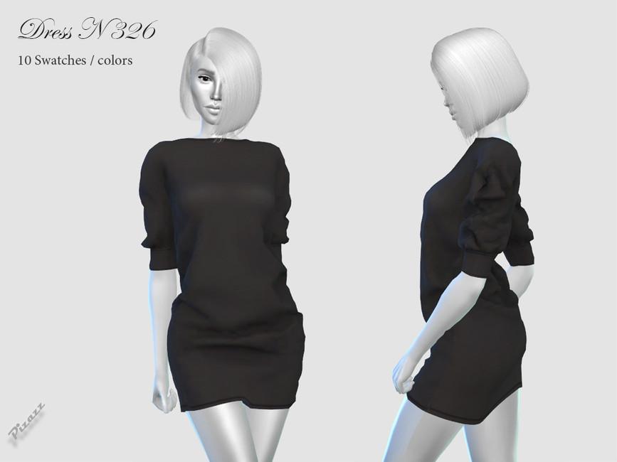 Платье DRESS N326 Симс 4