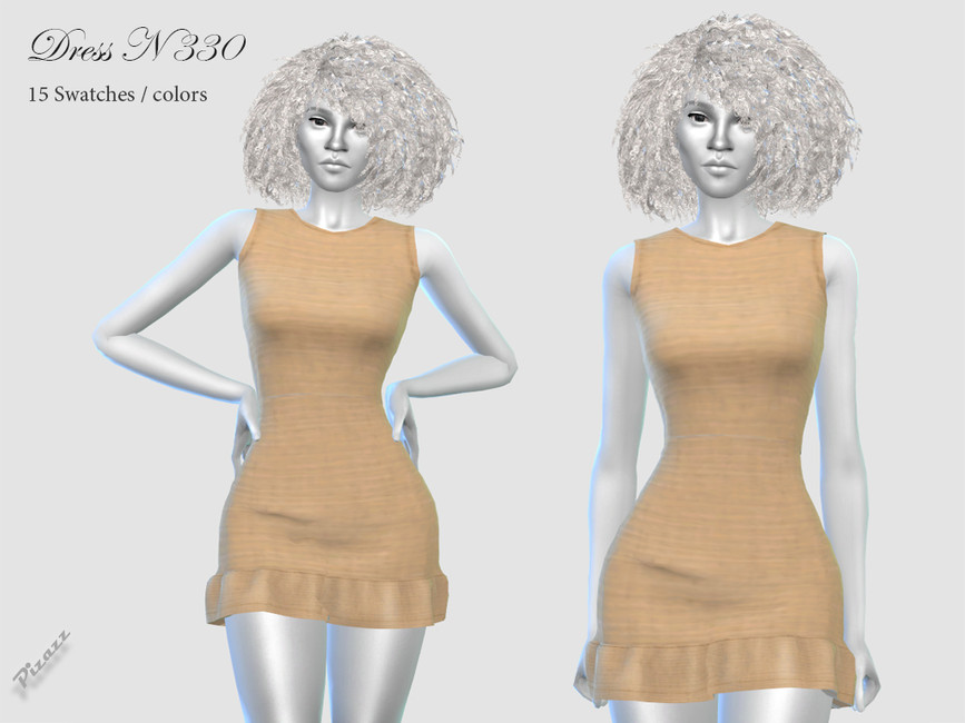 Платье DRESS N330 Симс 4
