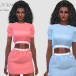 Платье DRESS N333 Симс 4