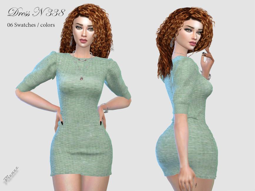 Платье DRESS N338 Симс 4