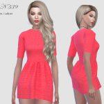 Платье DRESS N339 Симс 4