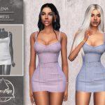 Платье Lena (Dress) Симс 4