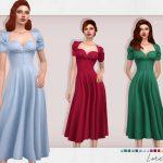 Платье Loretta Dress Симс 4