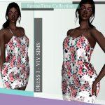 Платье SpringTime Collection - Dress I Симс 4
