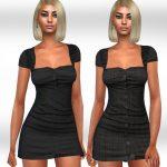 Платья-рубашки Симс 4