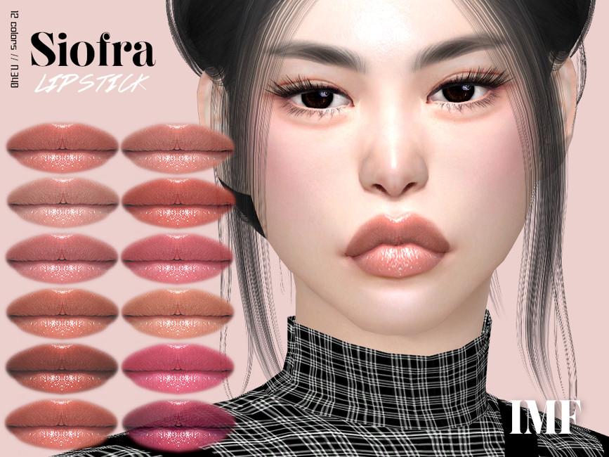 Помада IMF Siofra Lipstick N340 Симс 4