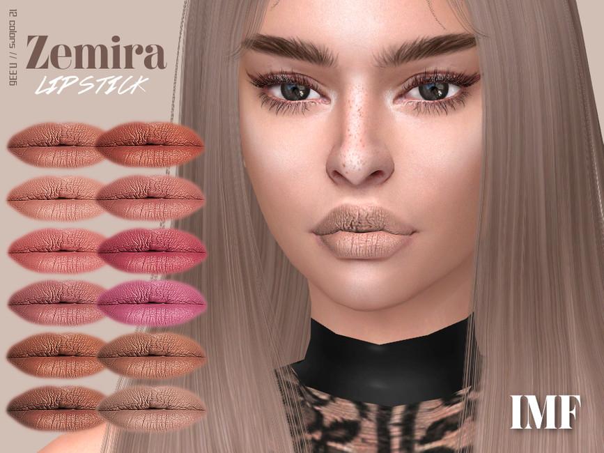 Помада IMF Zemira Lipstick N336 Симс 4