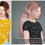 Прическа Helen Hairstyle (Child) Симс 4