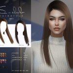 Прическа ts4 WM Hair 202113 Симс 4