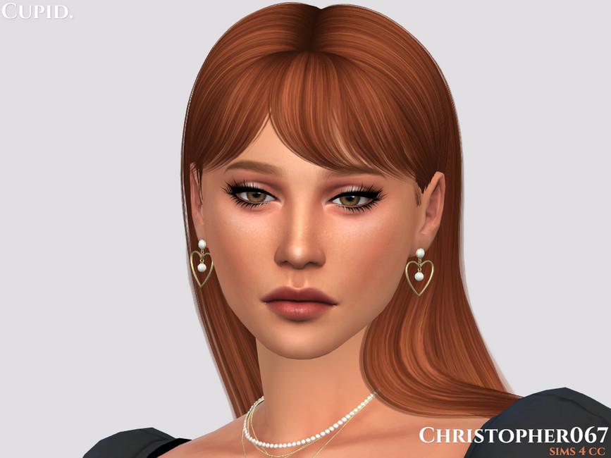 Серьги Cupid Earrings Симс 4 (картинка 2)