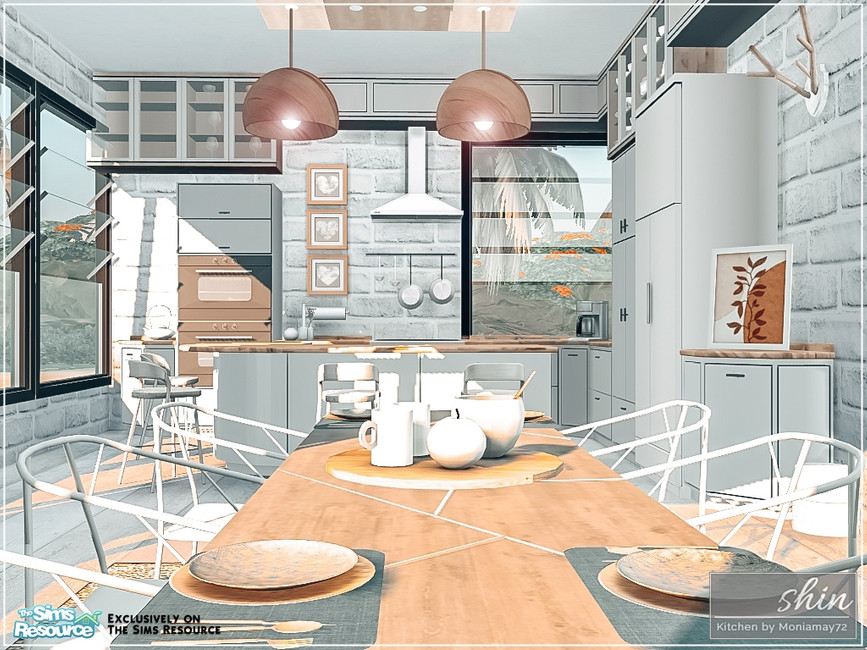 Скачать моды кухня для Симс 4 (картинка 2)