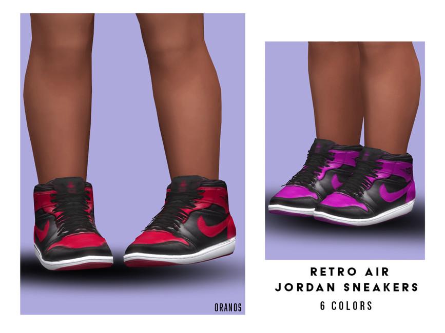 Скачать обувь для детей Симс 4