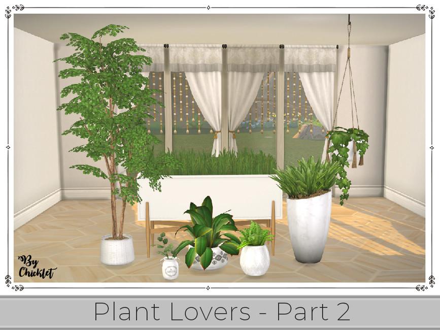 Скачать растения Симс 4