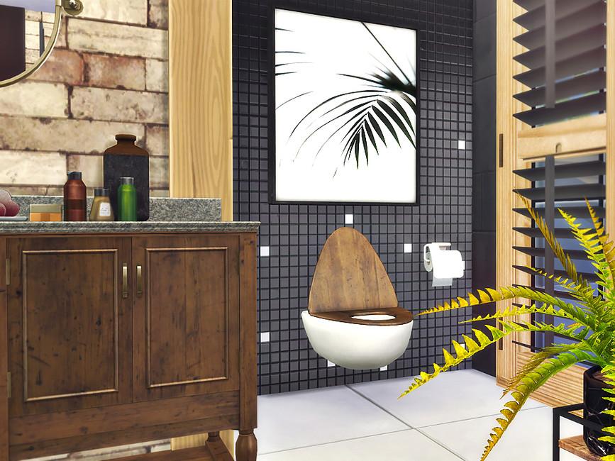 Скачать ванная комната Симс 4 (картинка 5)