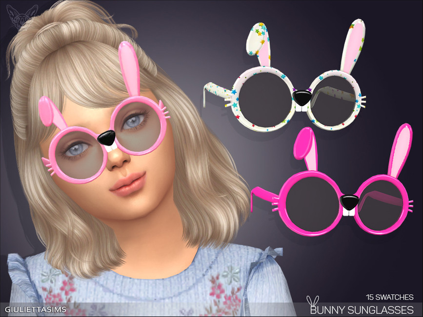 Солнцезащитные очки для детей Симс 4