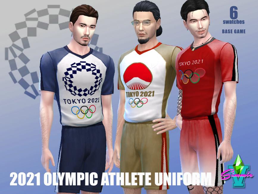 Спортивные костюмы для Симс 4