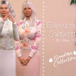 Свитер Grandma Sweater V2 Симс 4