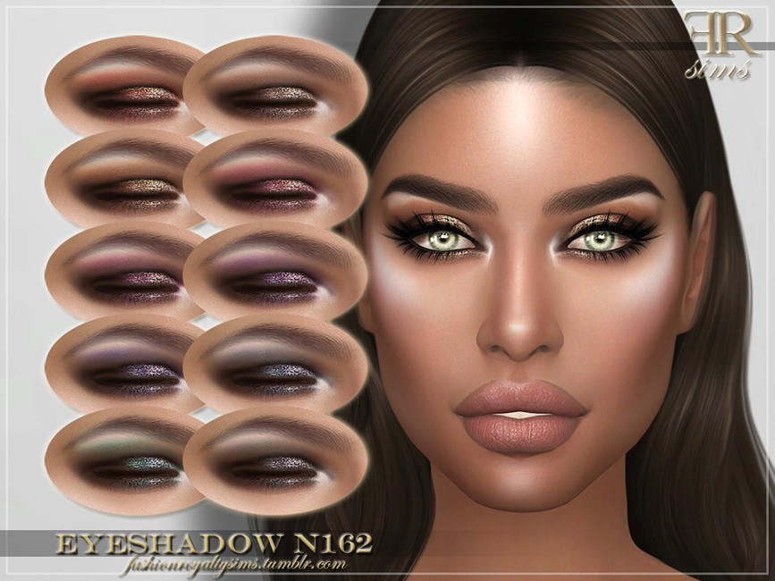 Тени FRS Eyeshadow N162 для Симс 4