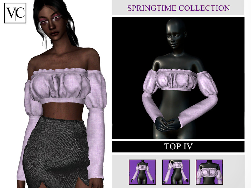 Топ Spring Time Collection - Top IV Симс 4