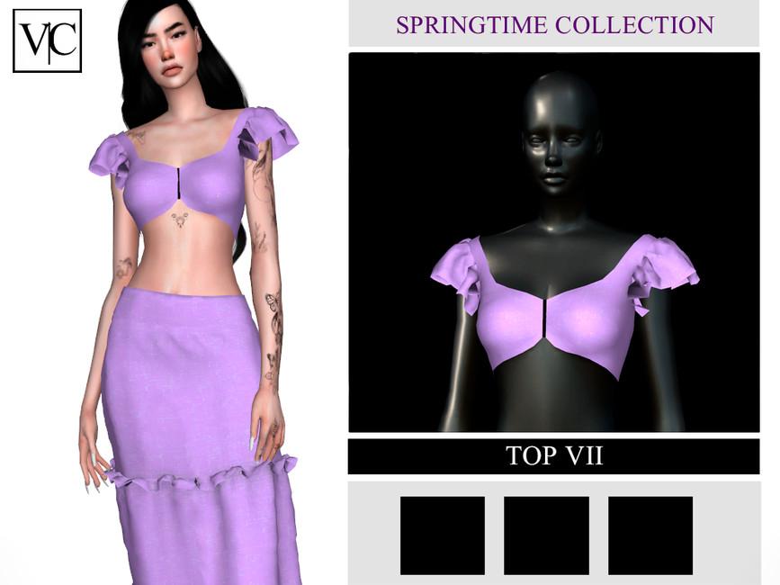 Топ SpringTime Collection - Top VII Симс 4