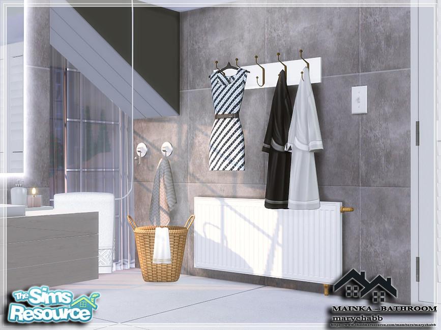 Ванная комната MAINKA - BATHROOM Симс 4 (картинка 6)