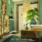 Ванная комната Симс 4