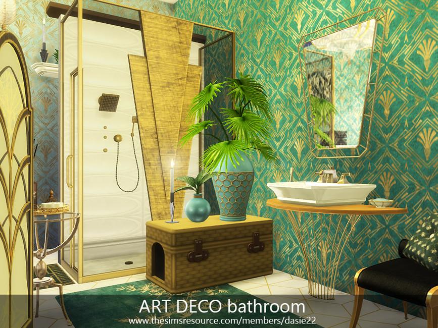 Ванная комната Симс 4 (картинка 2)
