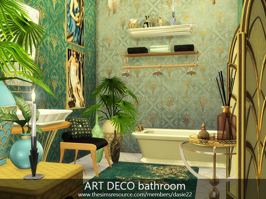 Ванная комната Симс 4 (картинка 3)
