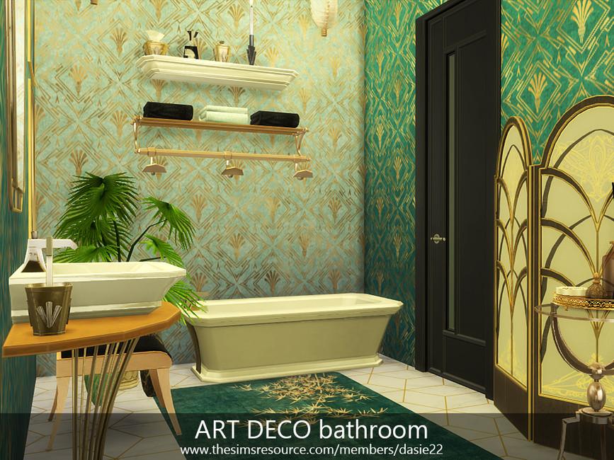 Ванная комната Симс 4 (картинка 4)