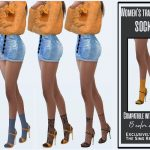 Женские носки Симс 4
