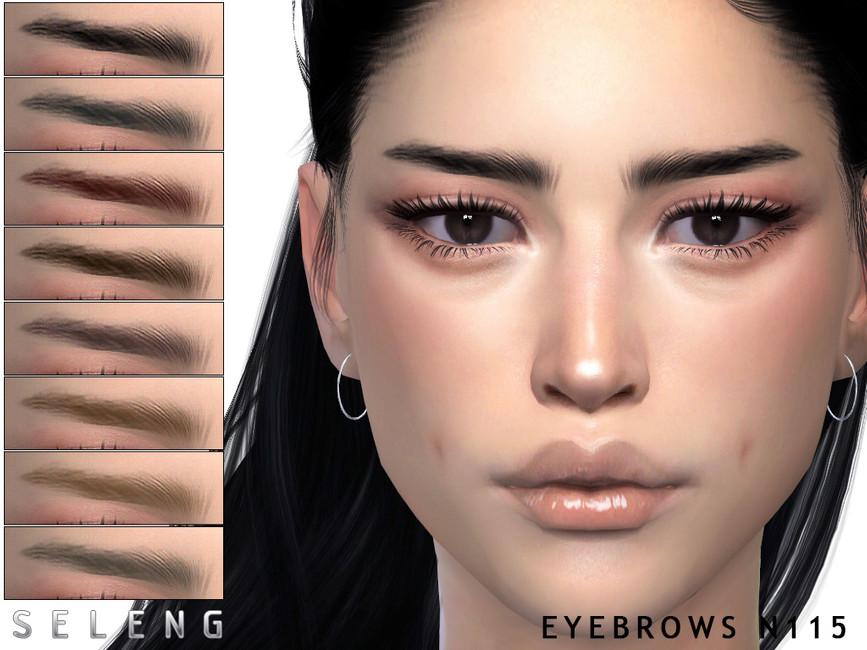 Брови Eyebrows N115 Симс 4