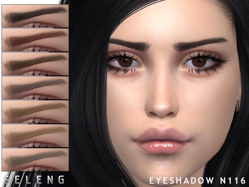 Брови Eyebrows N116 Симс 4