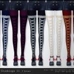 Чулки Stockings 11 Симс 4