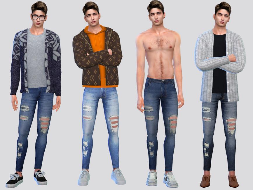 Дополнения джинсы Симс 4