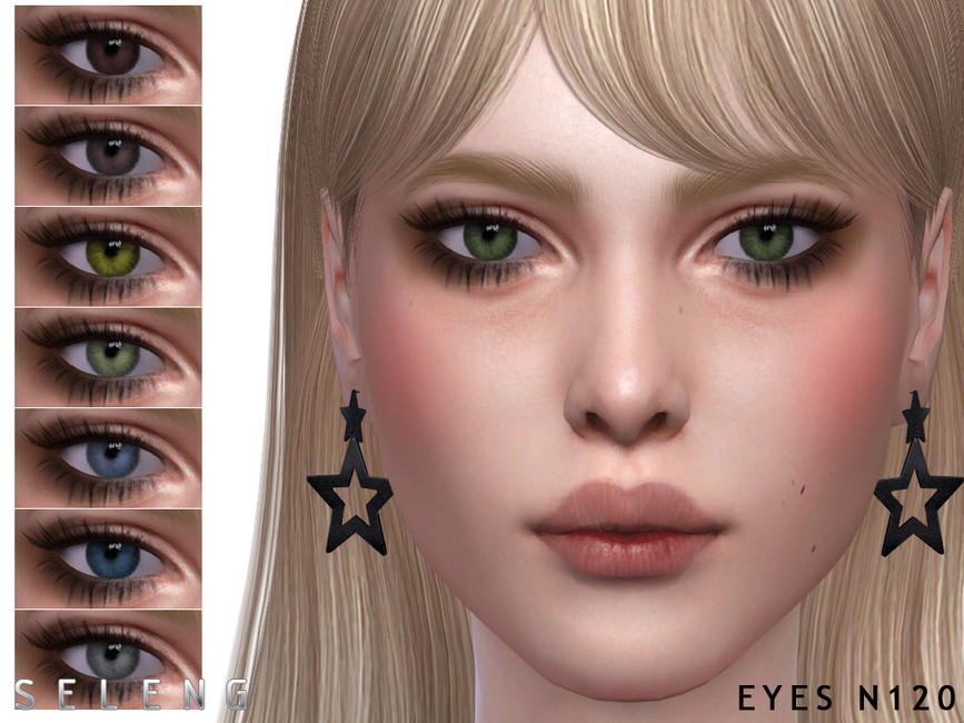 Глаза Eyes N120 Симс 4