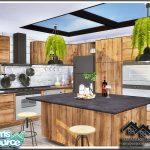 Кухня EUPALIN - Kitchen Симс 4