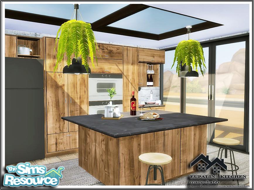 Кухня EUPALIN - Kitchen Симс 4 (картинка 2)