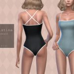 Купальник Christina Swimsuit Симс 4