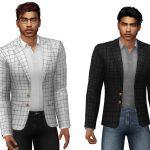 Моды мужской пиджак Симс 4
