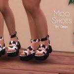 Обувь Moo Shoes Симс 4