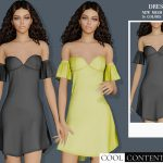 Платье Party Dress Симс 4