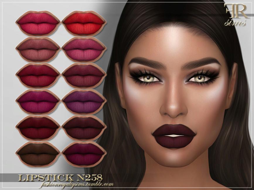 Помада FRS Lipstick N258 Симс 4