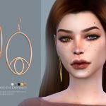 Сережки Good Eye Earrings Симс 4