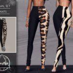 Штаны Animal Set (Pants) Симс 4