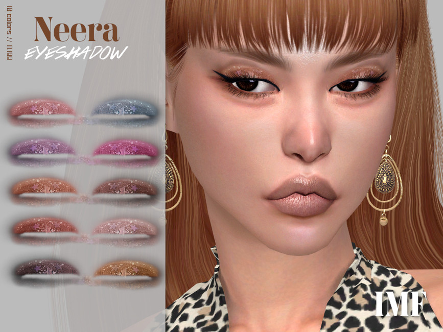 Тени для век IMF Neera Eyeshadow N199 Симс 4