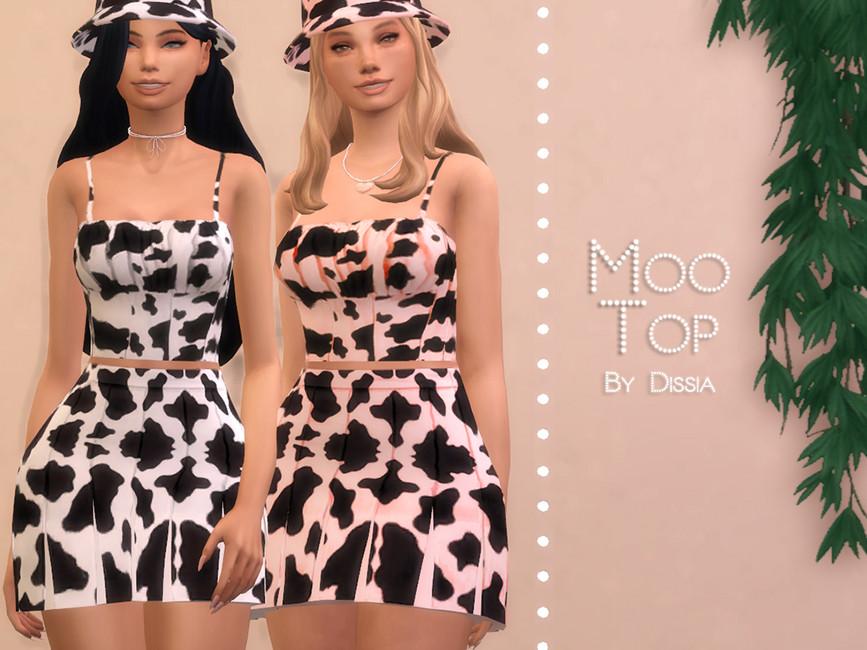 Топ Moo Top Симс 4