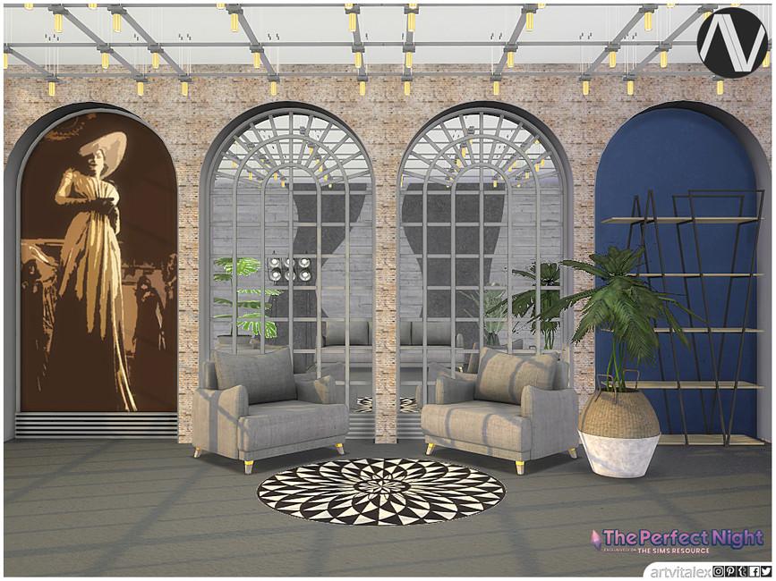 Декорации Alcina Ambient Decoration Симс 4 (картинка 2)