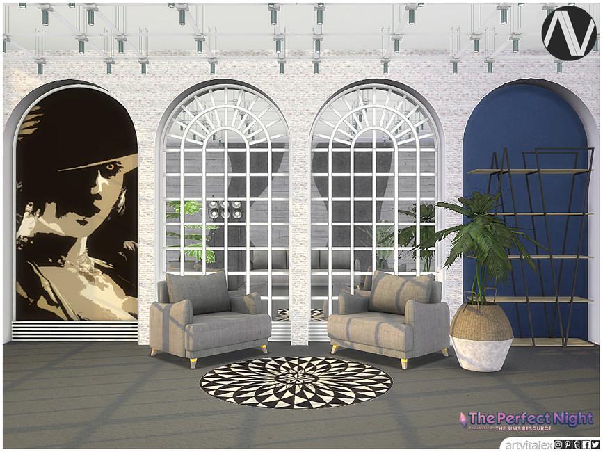 Декорации Alcina Ambient Decoration Симс 4 (картинка 3)